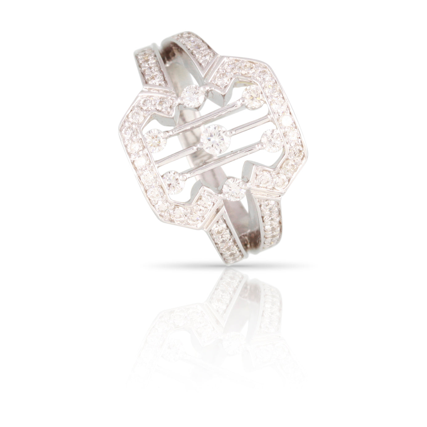 Pave Diamond Ring | The Barney