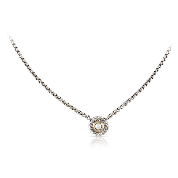 David Yurman Hampton Pearl Pendant | The Joseph