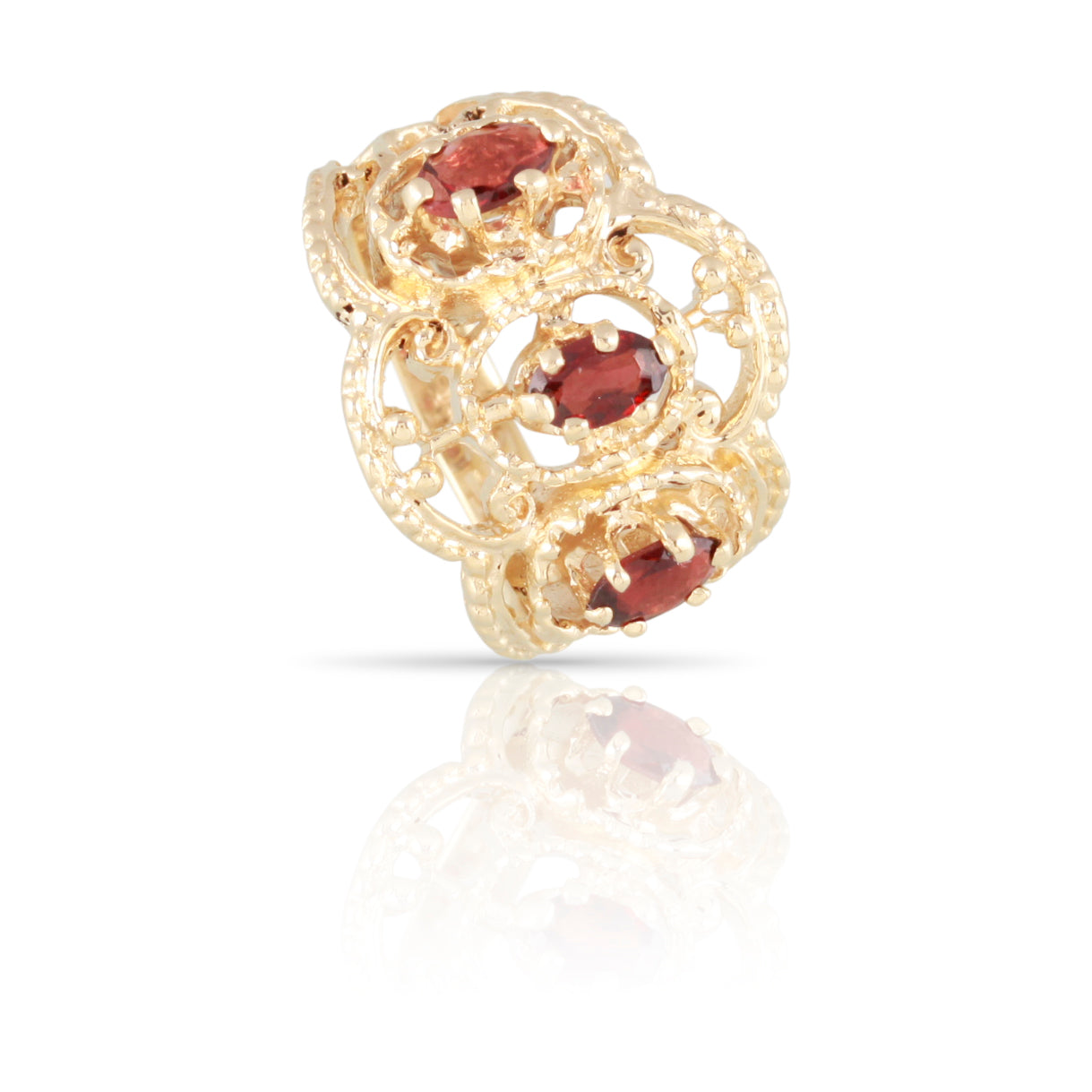 Garnet Ring | The Edith