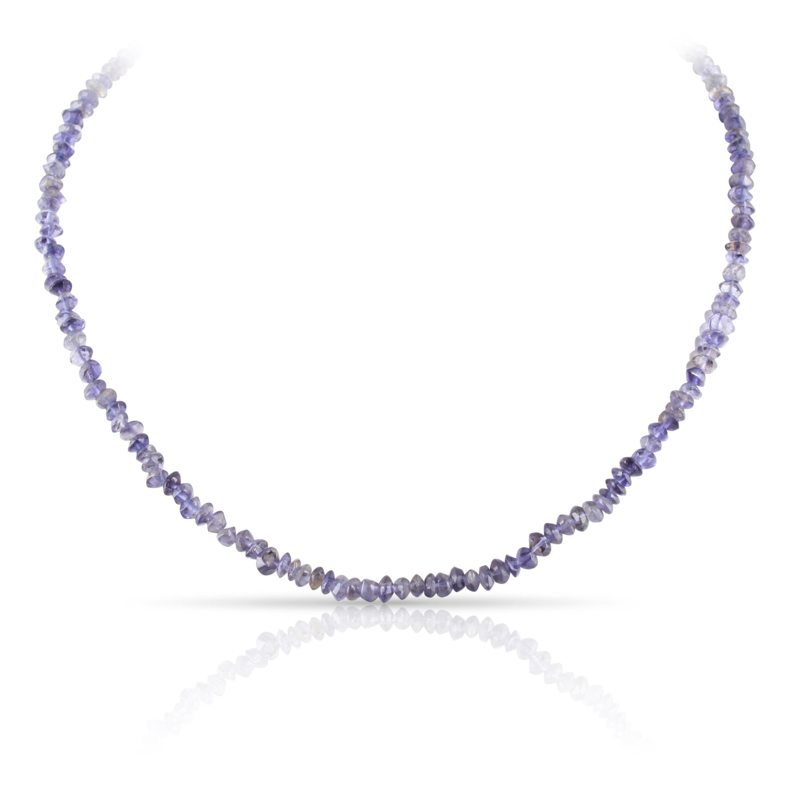 Iolite Bead Necklace | The Abel