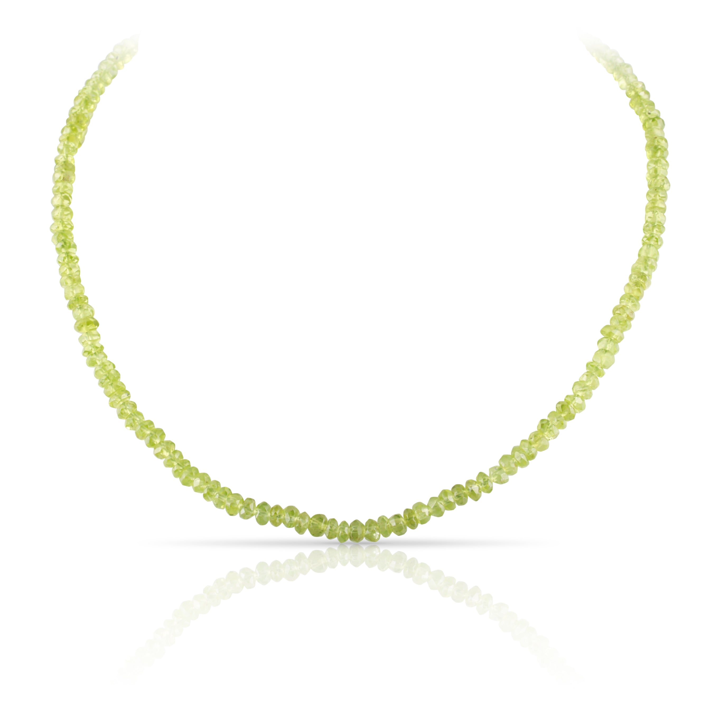 Peridot Bead Necklace | The Alistair