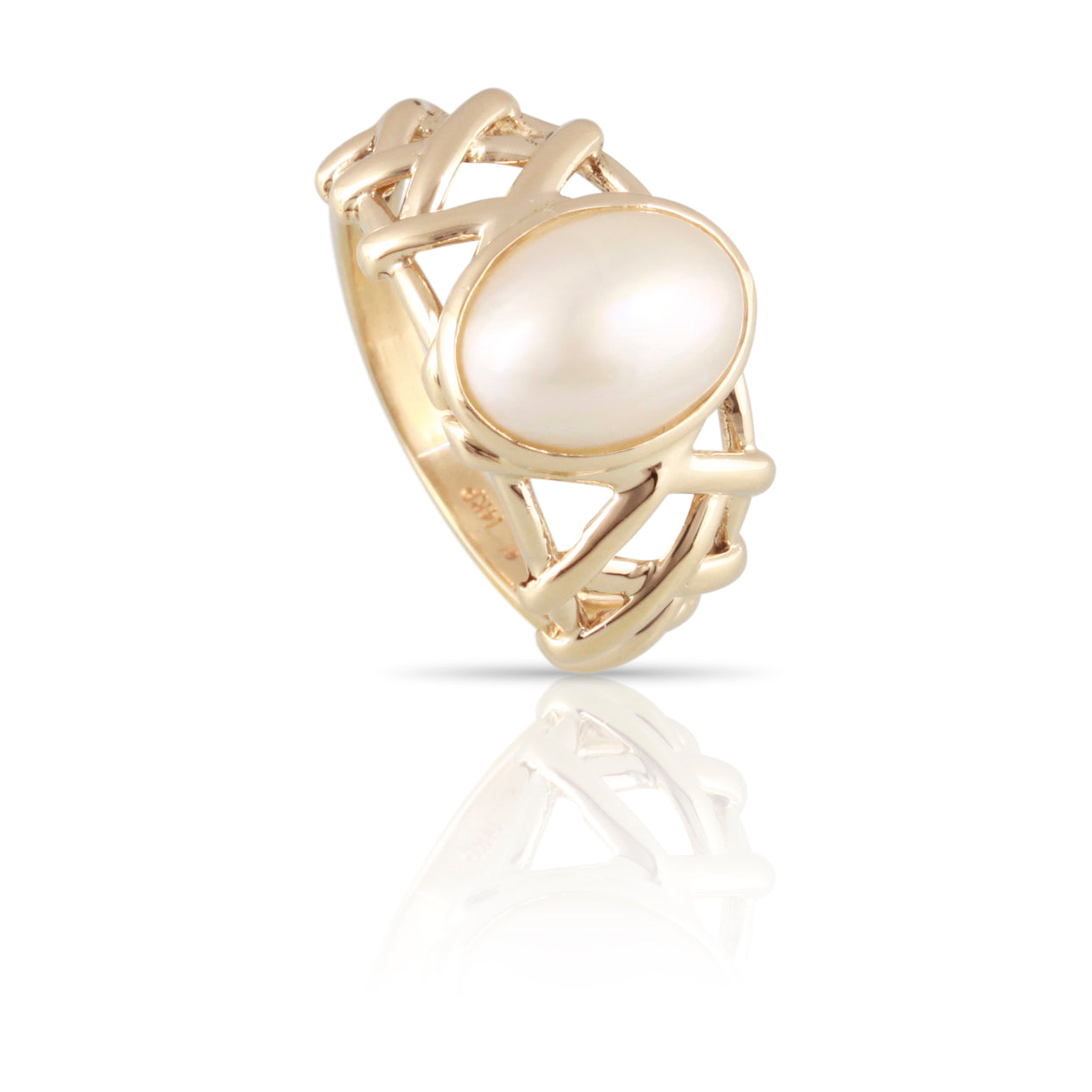 Mabe Pearl Ring | The Connor