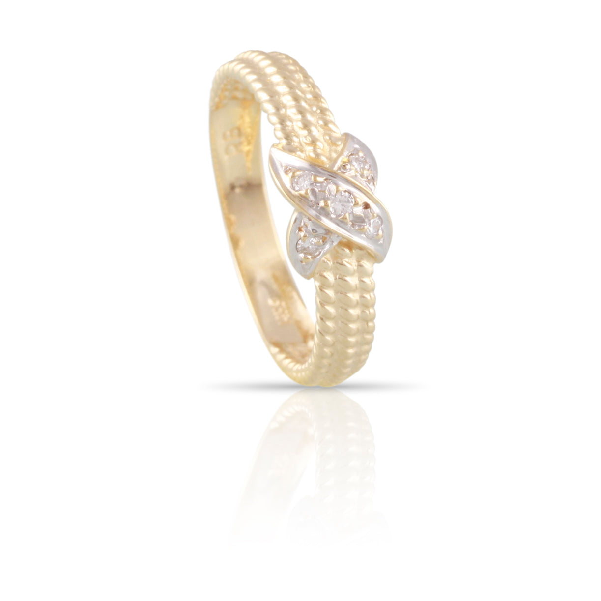 Diamond and Yellow Gold Ring | The Abigail