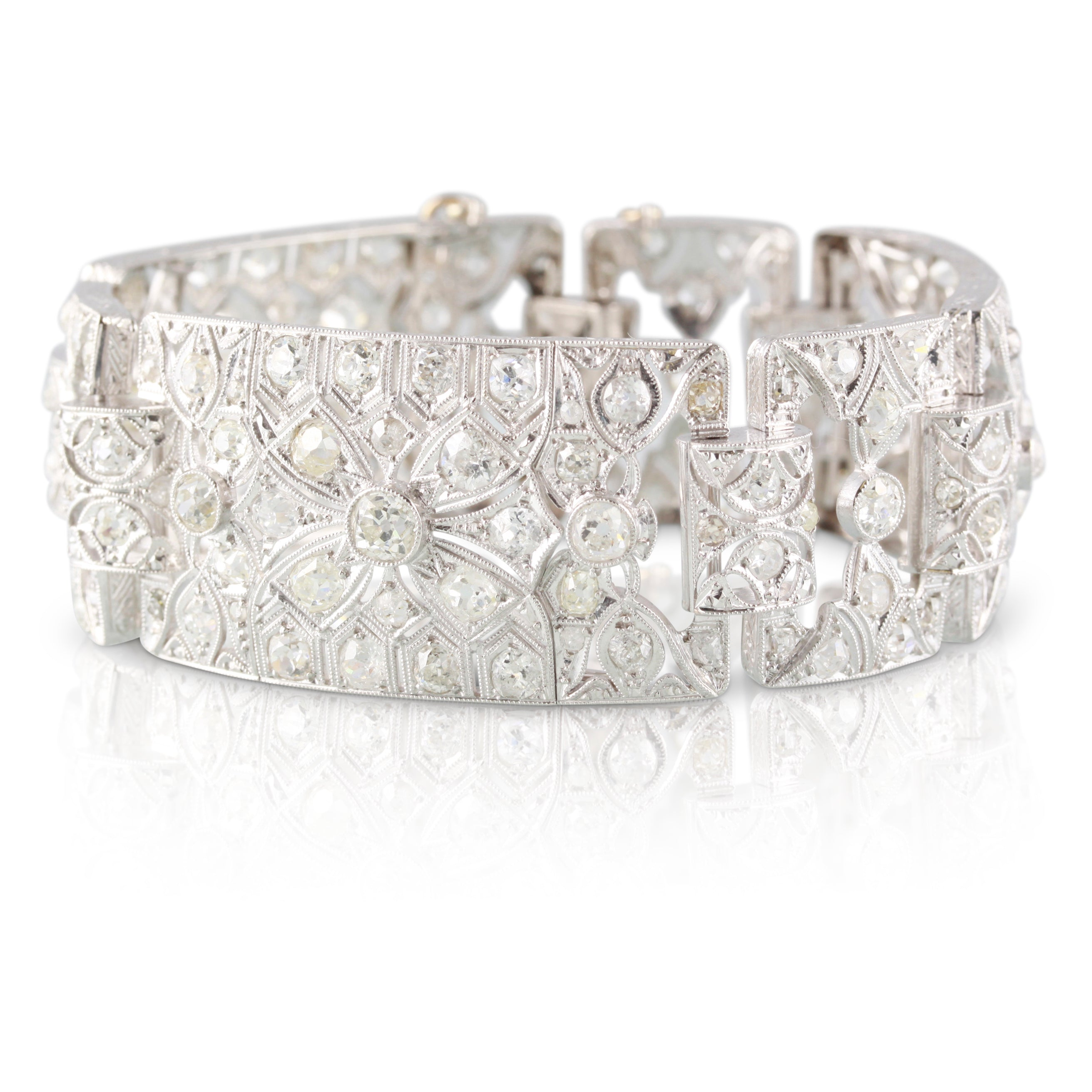 Edwardian Era Diamond Bracelet | The Elias