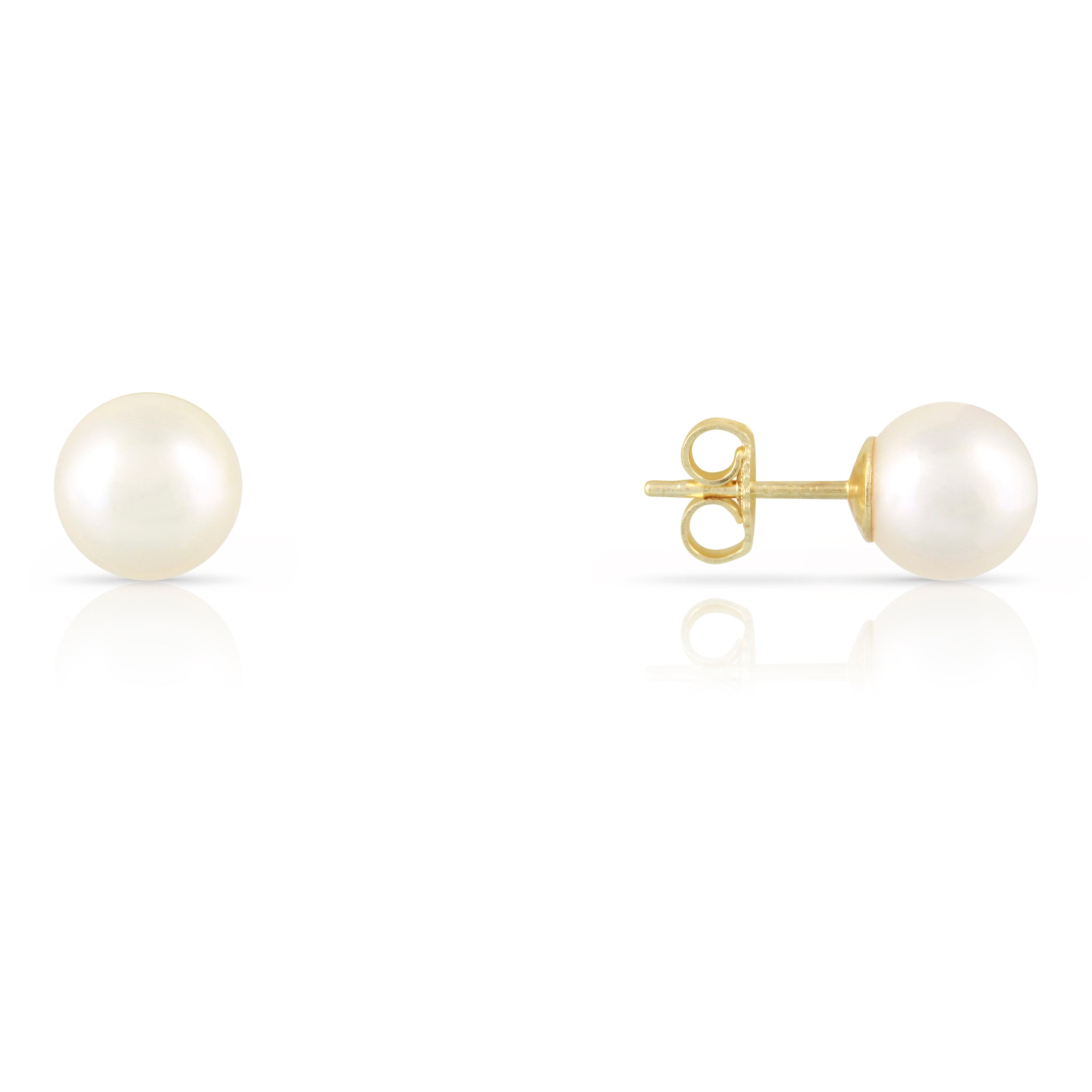 Mikimoto Pearl Stud Earrings | The Ines