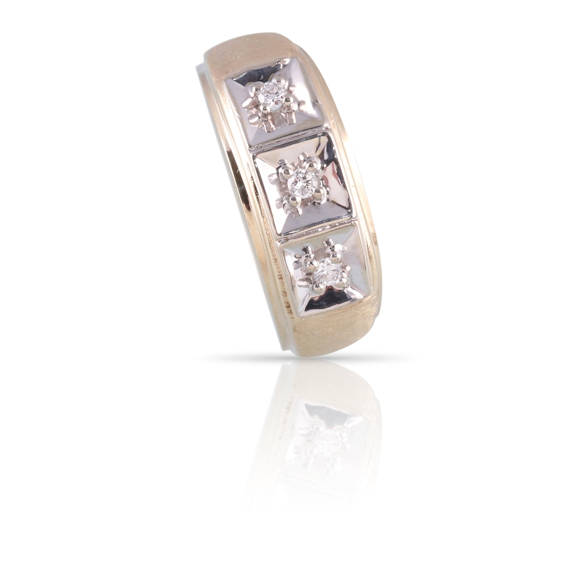 Three-Stone Diamond Ring | The Max