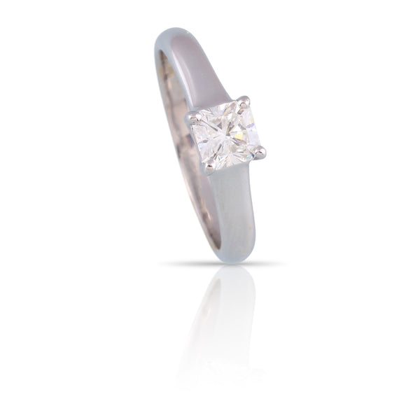 Tiffany & Co Lucida Cut Diamond Solitaire Ring | The Mira