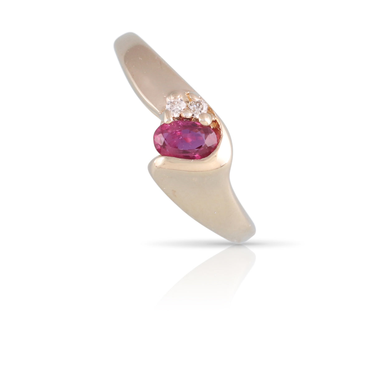 Ruby and Diamond Ring | The Cassia