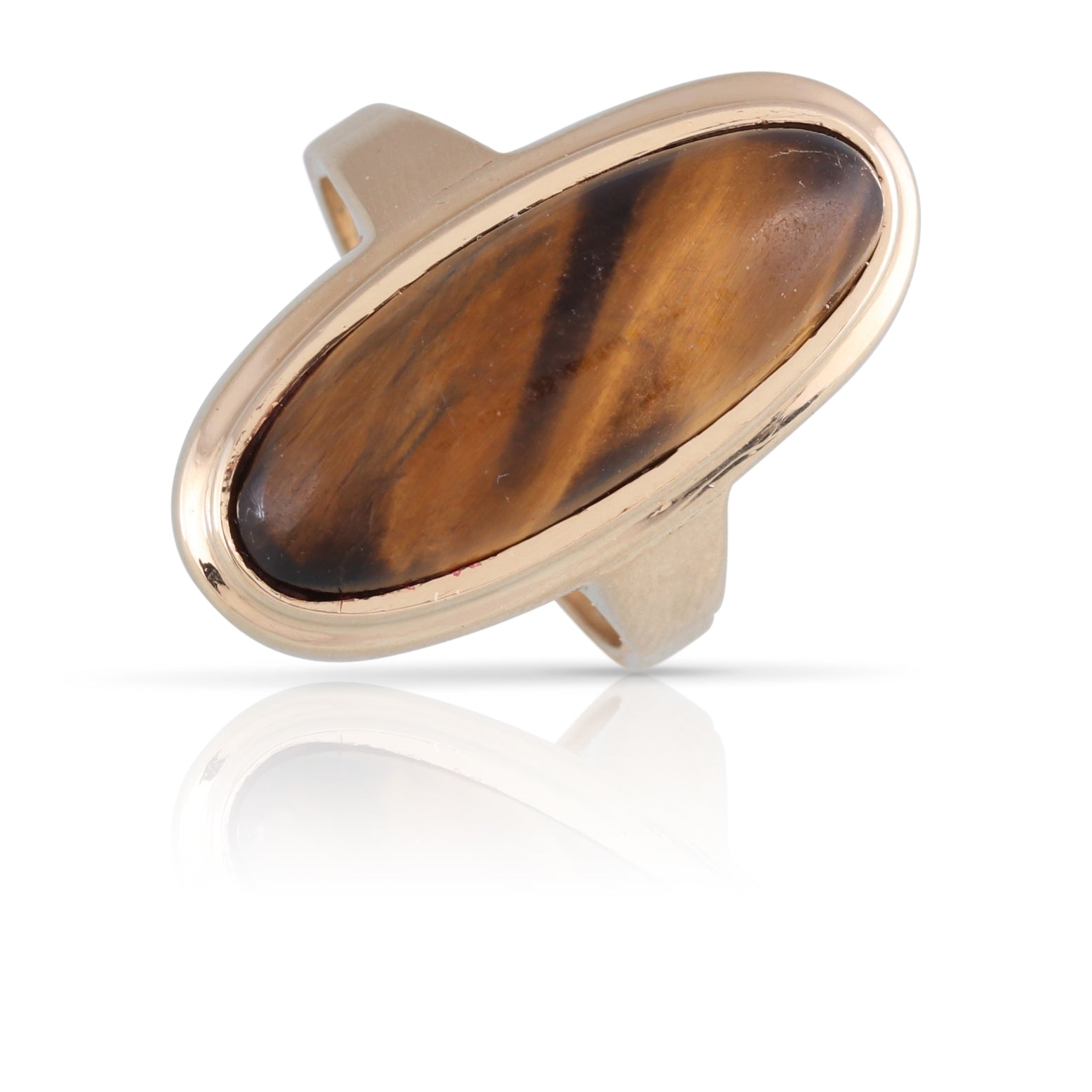 Tiger's Eye Ring | The Oriana