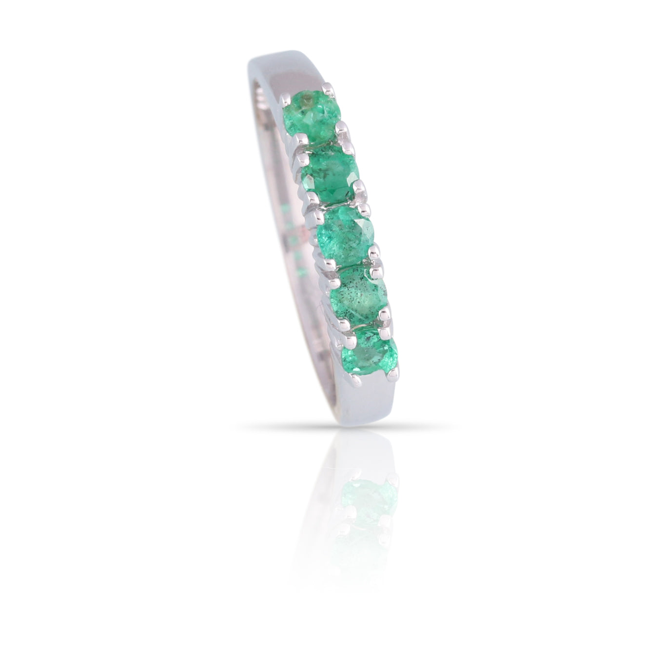 Emerald Five-Stone Ring | The Tristan