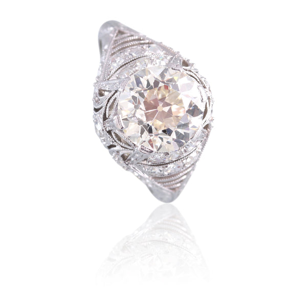 Old European Cut Diamond Ring | The Stellan
