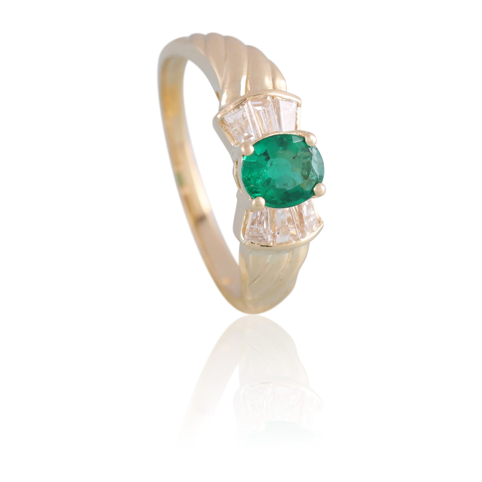 Emerald and Diamond Ring | The Eric