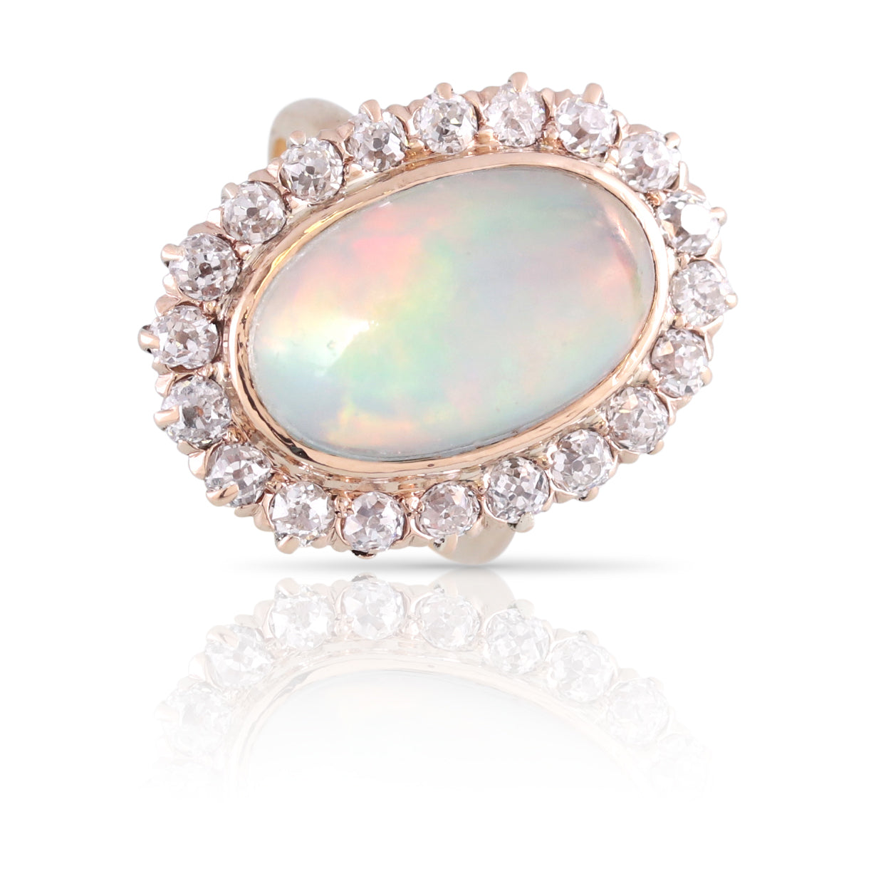 Opal and Diamond Cocktail Ring | The Jemima