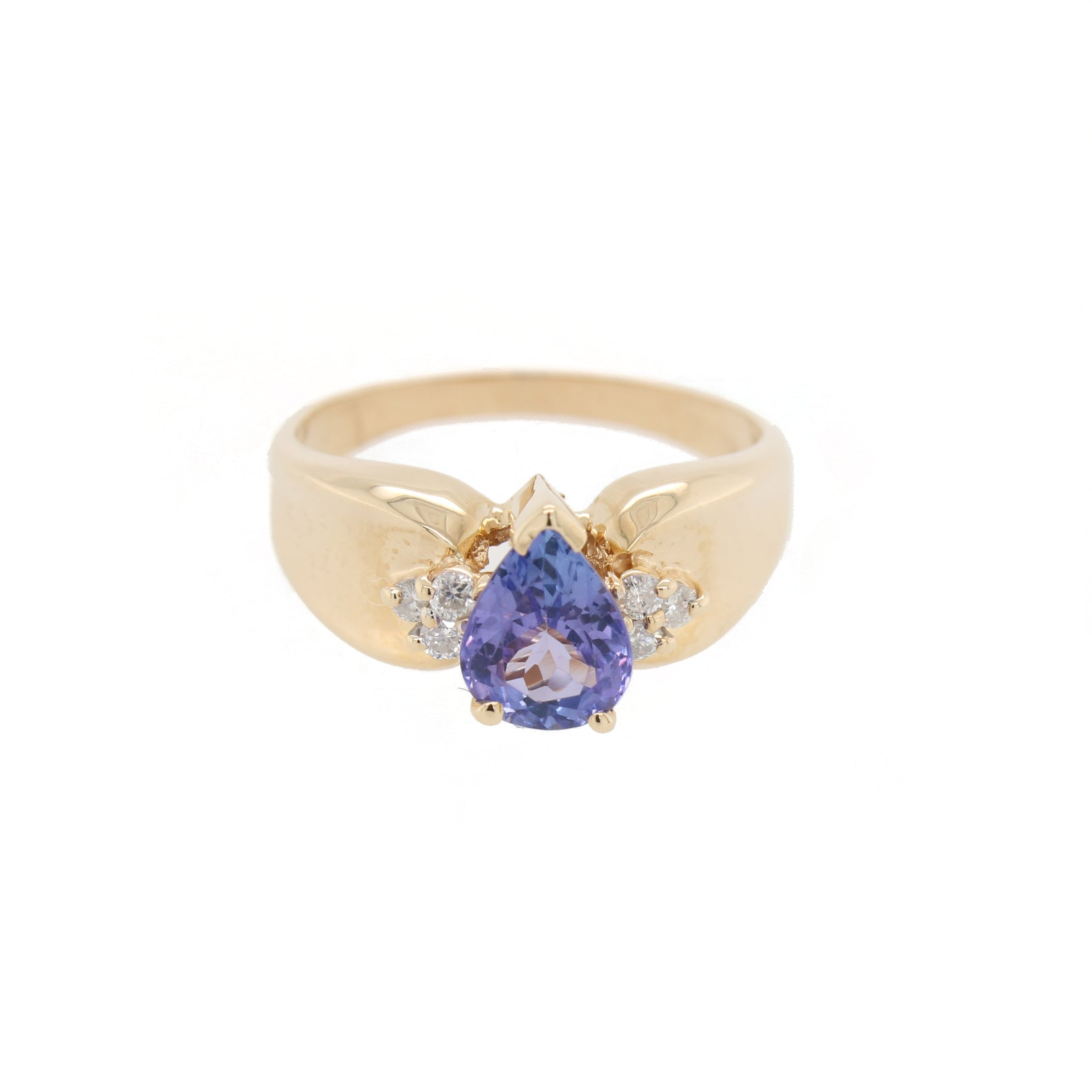 Tanzanite and Diamond Ring | The Rafferty