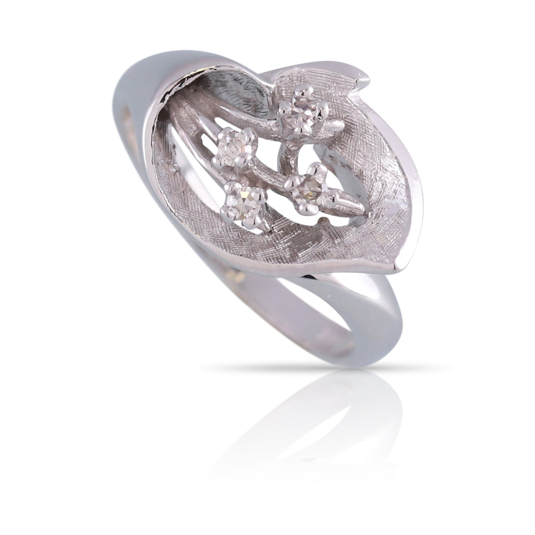 Diamond Bouquet Ring | The Leif