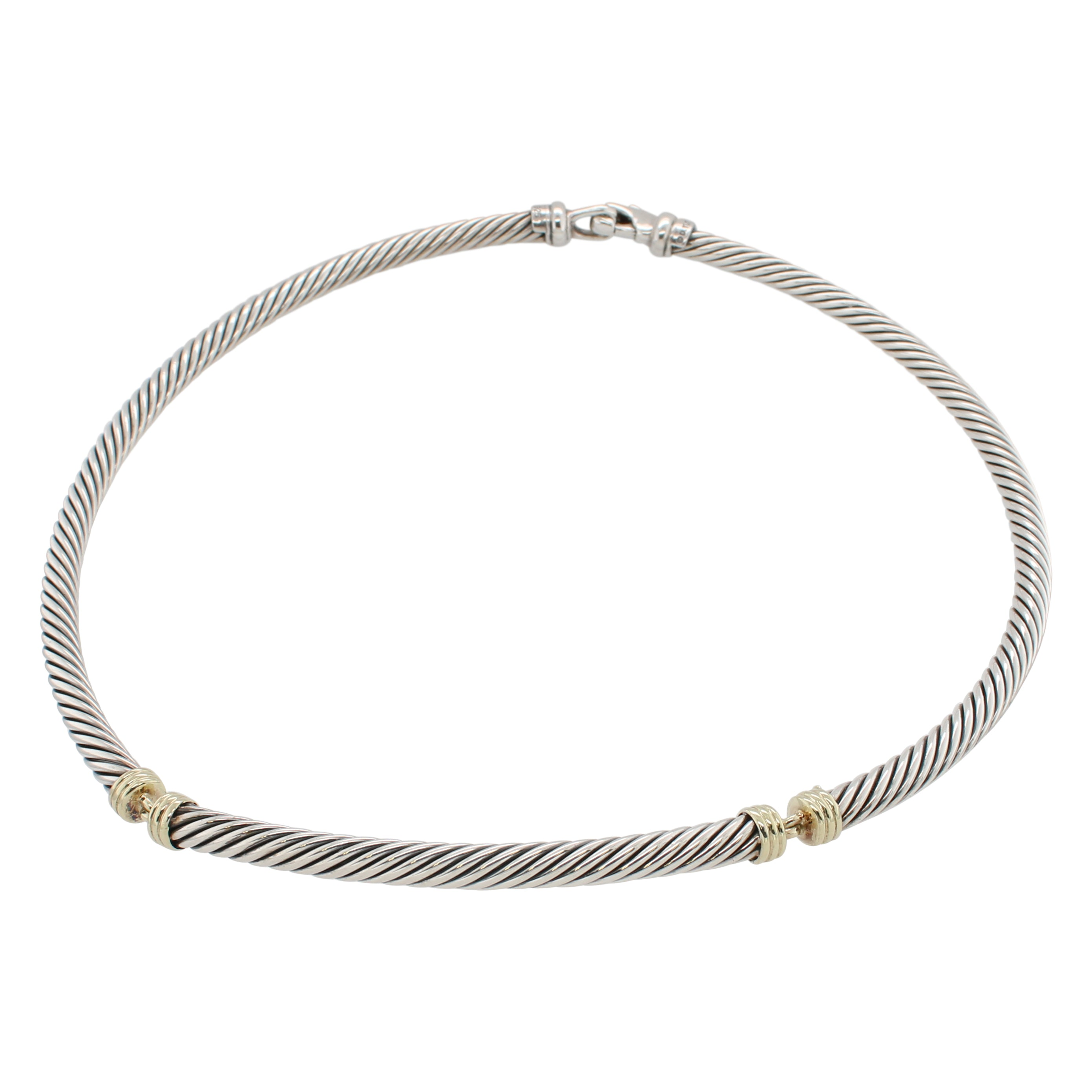 David Yurman 5mm Dome Cable Necklace