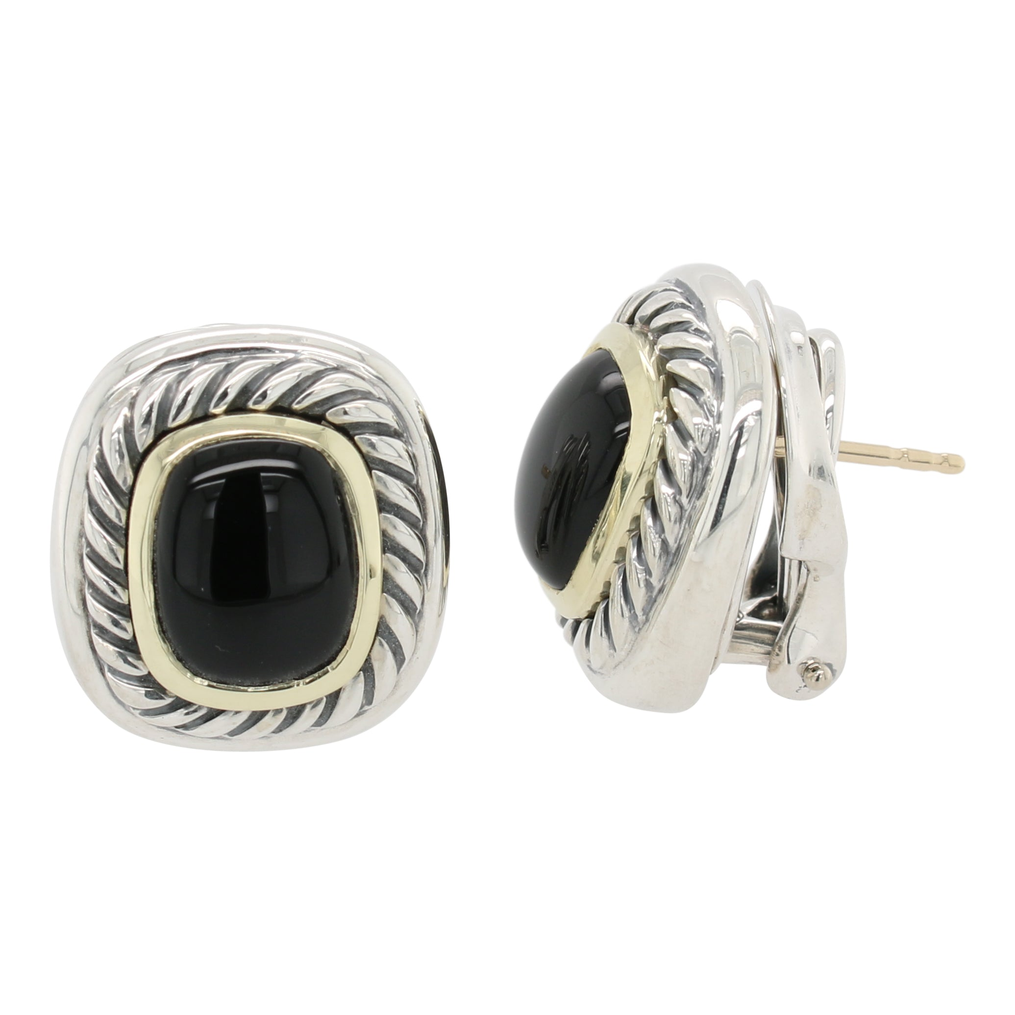 David Yurman Black Onyx Albion Earrings
