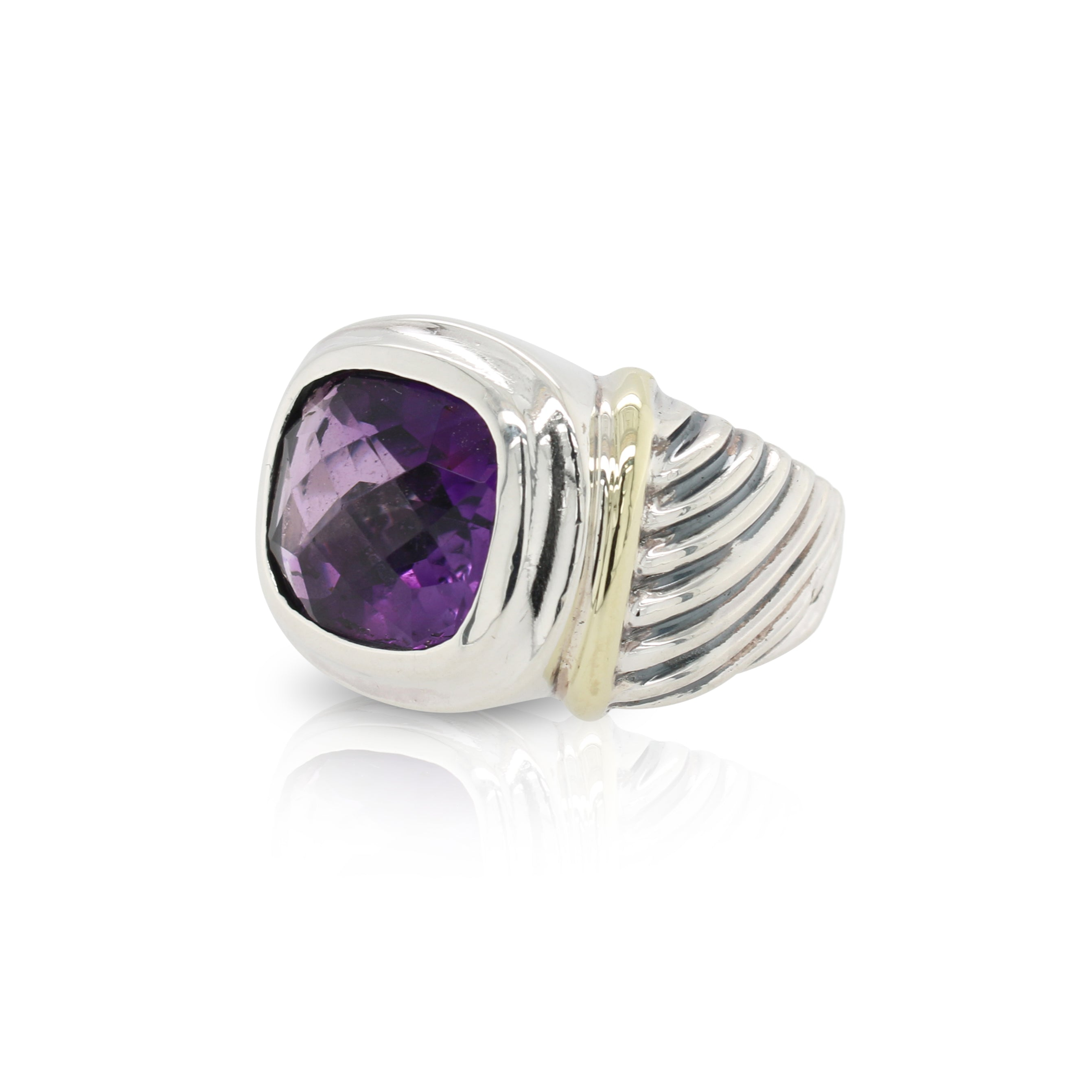 David Yurman Amethyst Ring