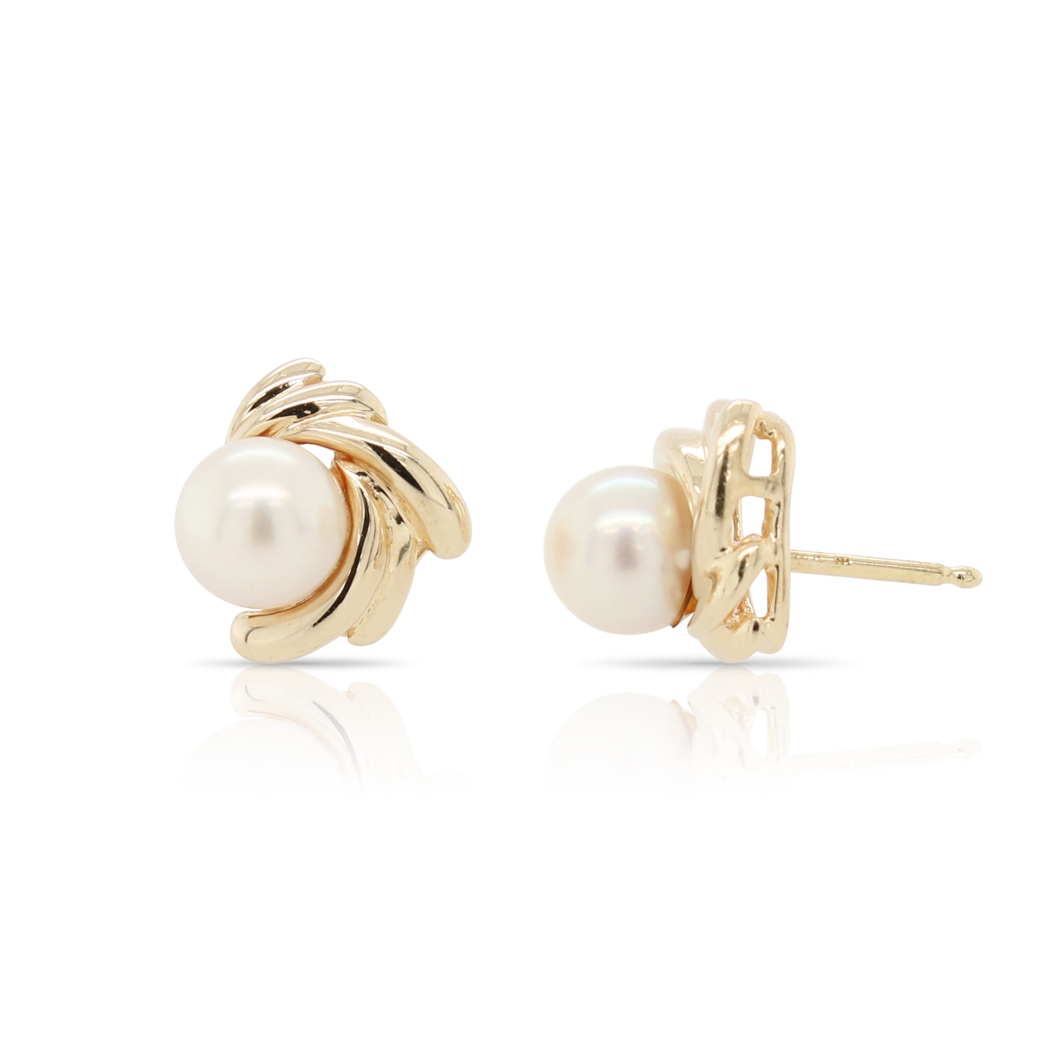 Pearl Knot Earrings