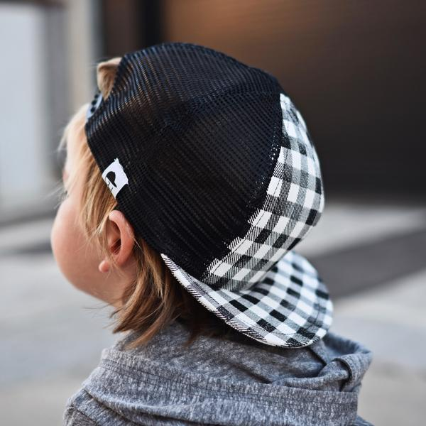 BW Plaid Trucker