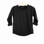 LB Long Sleeve Basic Swoop Tee
