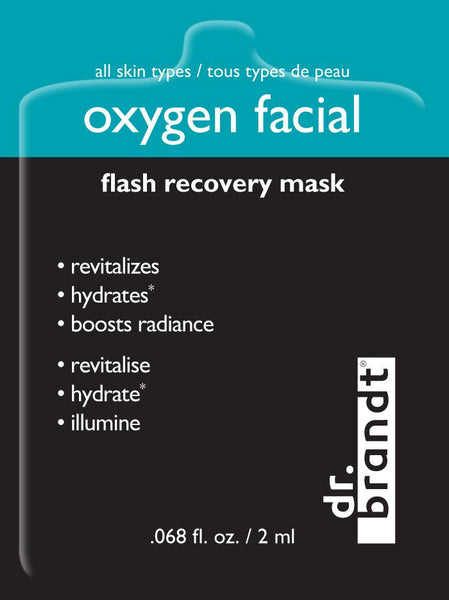 oxygen facial sample pack