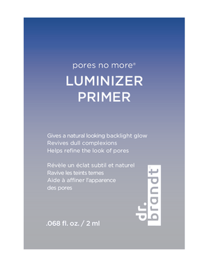dr-brandt-skincare-2 - pores no more luminizer primer sample pack -