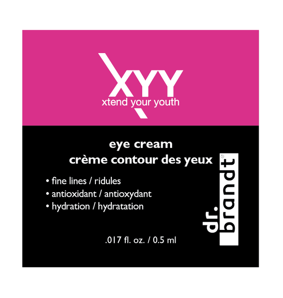 Xtend Your Youth eye cream sample pack