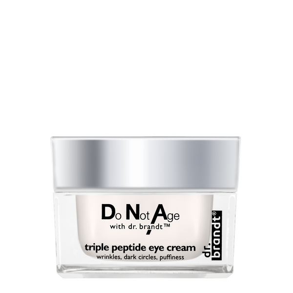 Do Not Age with dr. brandt <br>triple peptide eye cream