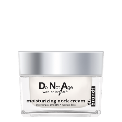 Do Not Age with dr. brandt® </br>MOISTURIZING NECK CREAM