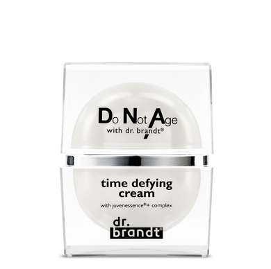 Do Not Age with dr. brandt® </br>TIME DEFYING CREAM