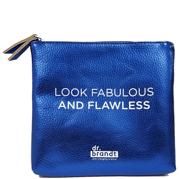 look fabulous & flawless cosmetic bag