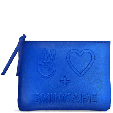 Deluxe Blue Cosmetic Bag