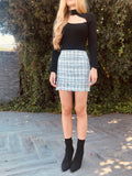 PRINCESS TWEED MINI SKIRT
