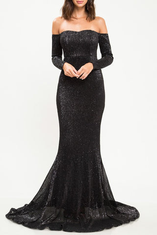 NOVA SEQUIN GOWN