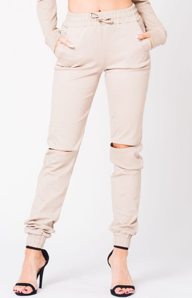 WAIST POCKETS JOGGER PANTS