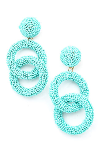 LOOP DANGLE EARRINGS