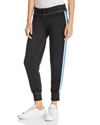 STRIPE BURNOUT JOGGERS