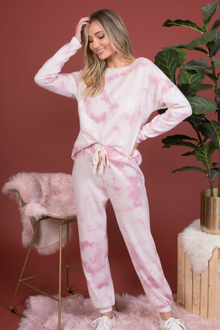 SUPER SOFT TIE DYE JOGGER SET