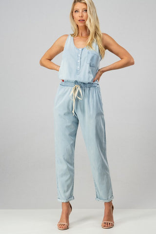 BABY BLUES DENIM JUMPSUIT