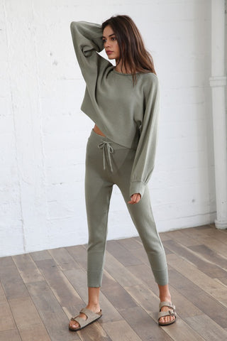 BASIL KNIT JOGGER SET