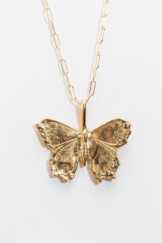 BUTTERFLY LINKED NECKLACE