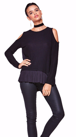 VERA PLEATS SWEATER - SHOP MĒKO