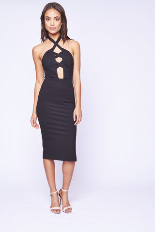 MIA DRESS BLACK - SHOP MĒKO