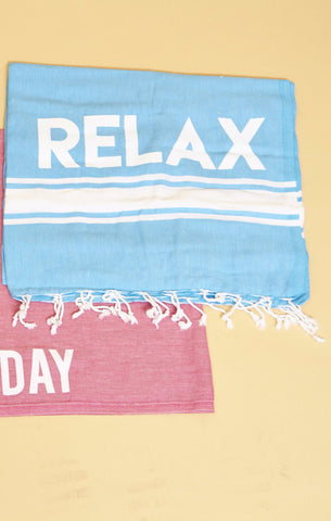 RELAX BEACH THROW - SHOP MĒKO