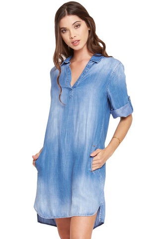 A-LINE SHIRT DRESS - SHOP MĒKO