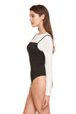 LONG SLEEVE BODYSUIT WITH TANK - SHOP MĒKO