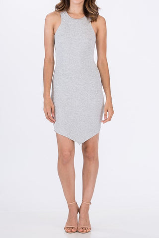 RIBBED TANK DRESS - SHOP MĒKO