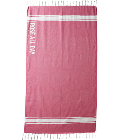 ROSE ALL DAY BEACH THROW - SHOP MĒKO
