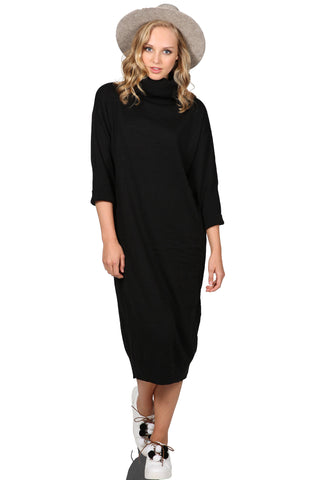 ALLEGRO TURTLENECK DRESS - SHOP MĒKO